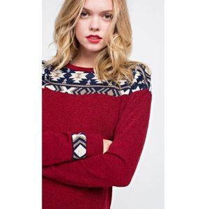 Stafford Aztec Detail Sweater